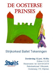 Flyer Oosterse Prinses